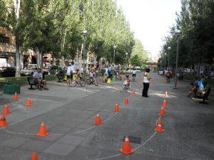 gymkana ciclista