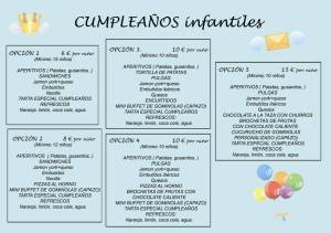 benditos cumples